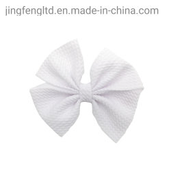 Arco de tela Vintage Hair Clip pasador de pelo Barrettes bebé moda Festival mariposa