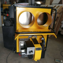 Modelo portátil Aquecedor de óleo dos resíduos de equipamento para casa de frango