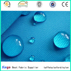 Enduit de PVC de haute qualité 100% polyester Tissu imperméable 500d'Oxford