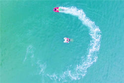 De elektrisch aangedreven Autoped van de Schop van de Surfplank van de Controle Straal