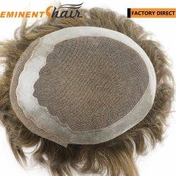 Swiss Lace Remy Hair Wig Uomo