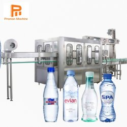 Bevanda automatica completa pura della bottiglia dell'acqua minerale della bevanda della bevanda gassosa della spremuta che elabora la linea di produzione di riempimento dell'imbottigliatrice dell'acqua potabile pianta