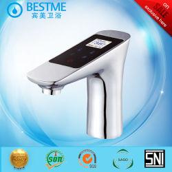 Экономия воды латунные ванной комнаты с раковиной с электронным управлением электродвигателя смешения воздушных потоков (BF-A001)