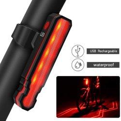 دراجة مصباح المؤخرة USB مصباح دراجة هوائية قابل لإعادة الشحن (BS-05)