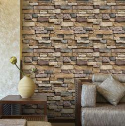 Selbstklebende verschiedene Arten des Ziegelstein-Tapeten-Hotel-Gaststätte-Backsteinmauer-Aufklebers