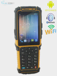Terminale Android di posizione del PC del ridurre in pani dello schermo di tocco con lo scanner WiFi 3G GSM Ts-901 del codice a barre