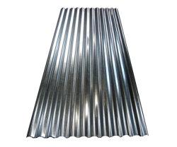 Material de construção de Certificado ISO Zn30g~Zn275g médio a quente de metais galvanizados Painel do telhado de zinco lado a lado revestido de liga de aço corrugado Tecto