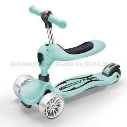 Kick scooter trois roues Kids Scooter Scooter avec la lumière de la fonction de torsion