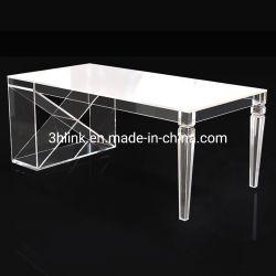 Acrílico de lujo en la ampliación de la mesa de comedor