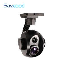 Savgood SgUav2030nl T25 2MP 30Xのズームレンズ熱光学BiスペクトルEoIRのジンバルの無人機のカメラ