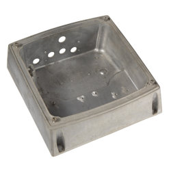 Professional y precisión de aluminio moldeado a presión para automóvil de moldeo de piezas de concha