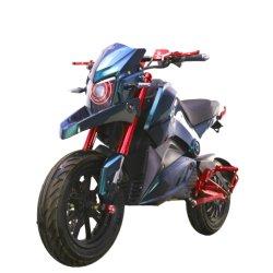 高速および長距離の電気通りのバイクのオートバイ