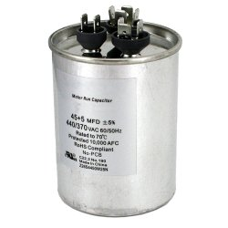 Cbb65 Cbb60 Aluminiumdeckel-Klimaanlagen-Motorstartläufer-Kondensator