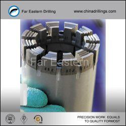 Geïmpregneerde Tube Diamond Core Drill Bits Voor Hard Rock