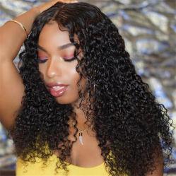 10A 100 % de l'homme brésilien Virgin cheveux perruque frisée