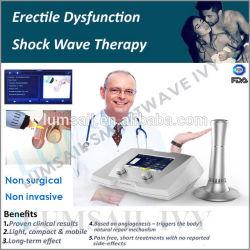 Pene terapia de masaje de la salud de la máquina de terapia de ondas de choque el equipo de la disfunción eréctil