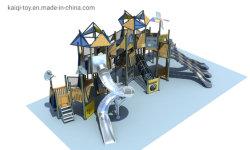 2020子供の楽しみのための最も新しいKaiqi木WPCの良質の広範囲の屋外の運動場装置