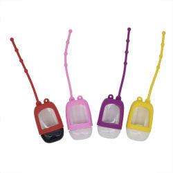 Держатель цепочки ключей Pocket Bag 30ml 50мл дезинфицирующие гель портативный бачок силиконовый держатель для спиртовой