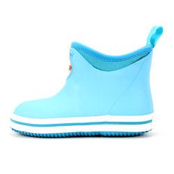 أقدام جميلة سمينة شكل بطانة النيوبرين الأطفال أحذية المطر المطر واضحة المطر أحذية للأطفال