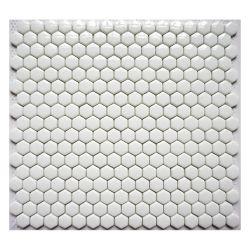 Сетка устанавливается на стене ванной белый метро стеклянной мозаики плитки