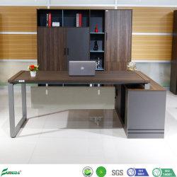 El chino moderno Workbench el cuadro de metal y madera Muebles de oficina de la estructura de tabla