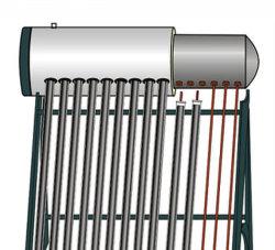 aquecedor solar de água pressurizada de plástico com revestimento de pulverização (SPP)