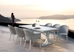 Patio extérieur tables à manger et le président fixe le restaurant moderne de créateur chaise de salle à manger