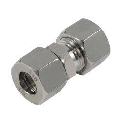SS316 12L는 까만 깃봉 절단 반지 관 이음쇠를 골라낸다