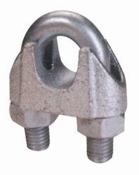 La norme DIN 741 malléable Wire Rope Clips