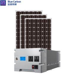 太陽エネルギーシステムホーム太陽エネルギーシステムを供給する青いカーボン3kwh工場