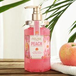 Ailkeの香水の雪の白は洗浄シャワーのゲルを細くするボディ鉱泉ボディをごしごし洗う