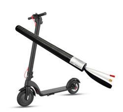 Bateria de Scooter eléctrico 4.4Ah 24V Bateria de fibra de carbono para bateria de Scooter tubo redondo no mercado