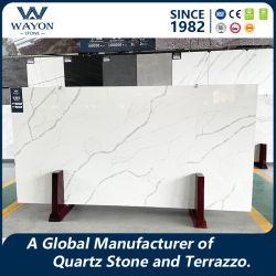 중국 도매 칼라카타 엔지니어드 Quartz 슬랩/플로어 타일/대리석 타일/인공 석재 Granite Stone Wg467용 슬래브