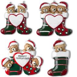 Het Ornament van Kerstmis van Polyresin, Giften Polyresin