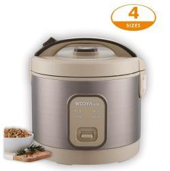 Kooktoestel van de Rijst van de kruik het Elektrische voor Schakelaar van het Gebruik van de Keuken van het Huis de Auto Kokende aan 3D Warme Verse Rijst van het Levensonderhoud