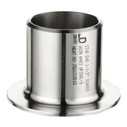 Mss SP-43 standard de type A/B/C d'extrémité en acier inoxydable