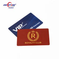 Paiement par carte à puce NFC 13.56MHz RFID Contrôle d'accès personnalisé Carte de l'impression CMJN