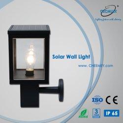 Indicatore luminoso solare esterno della parete del LED con la batteria di litio per il giardino