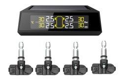 4 sensoren in de ventielen van het bandenspanningscontrolesysteem van de auto TPMS