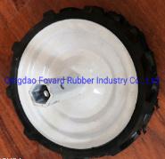 13*3.50 ruota in gomma piena di alta qualità per Micro-Tillage Farm Veicoli e trituratori per erba di piccole dimensioni