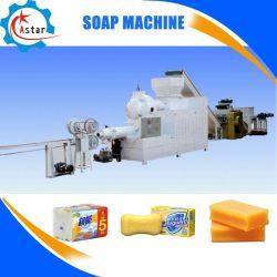 Wc completo de fábrica de sabão lavandaria máquinas de sabão