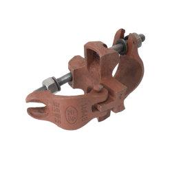 Il metallo dell'armatura morsetto della parte girevole da 90 gradi ha forgiato il doppio accoppiatore