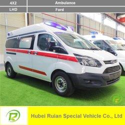 Diesel Ford 2.0T Ambulance Ambulance voiture Transfert du patient