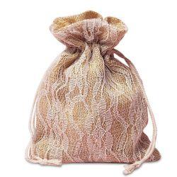 Premium kwaliteits veters en tassen voor de Burlap-cadeautas
