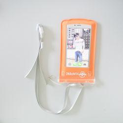 투명 휴대폰 방수 가방 실외 수영 TPU 터치 스크린 팽창식 방수 케이스
