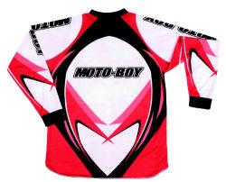 Moto-Boy hommes Jersey Vêtements moto hors route (MO-MC001J - rouge)