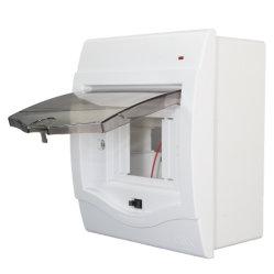 Caja eléctrica y distribución de energía de la tapa de la superficie MCB Módulo de caja de 4p