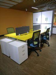 현대적인 가구 공장 가격 사무실 책상 테이블 워크스테이션 사무실 가구 캐비닛이 있는 실내 사무실용