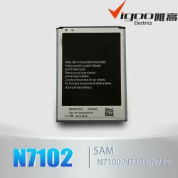 Original OEM haute capacité de batterie de téléphone mobile pour Samsung Galaxy N7100595675N7102 Eb lu