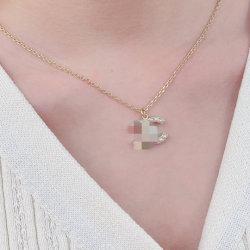 Decoración de lujo de mujer réplica diseñador de joyas de moda collar plata esterlina joyas Joyas de perlas Accesorios de moda